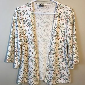 [UO] Sparkle and Fade Floral Cardigan S
